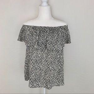 LOGG H&M off the shoulder blouse C75